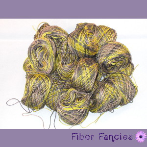 Hand Dyed Cotton Crochet Thread - Rustic