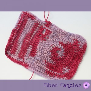 Hand Dyed Crochet Thread - Strawberry